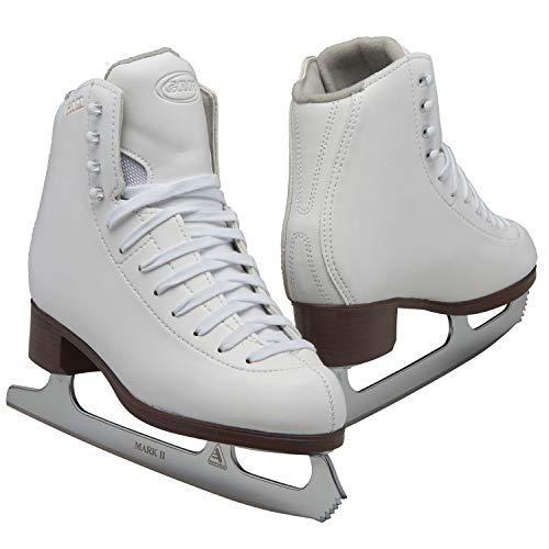 Jackson Ultima GAM Pirouette Damen und Mädchen Schlittschuhe, Weiß, Damen, weiß, Adult - Women 8