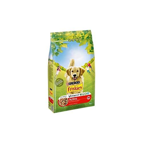 Friskies Vitafit Active Au Boeuf - Pienso para perro adulto (4 kg)