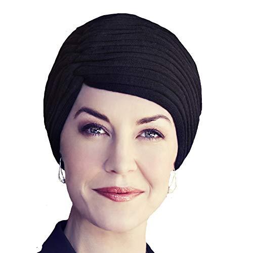 Christine Headwear Eleganten aus Baumwolle gestrickten Mütze Wird Hiver (schwarz)