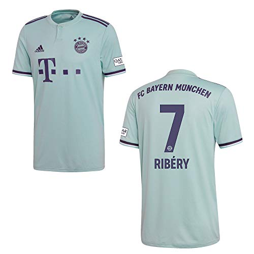 adidas FC Bayern MÜNCHEN Trikot Away Kinder 2019 - Ribery 7, Größe:176