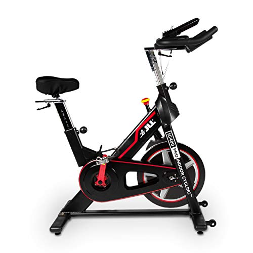 JLL IC400 PRO Indoor Cycling Exercise Bike, Direct Belt Driven 22kg...