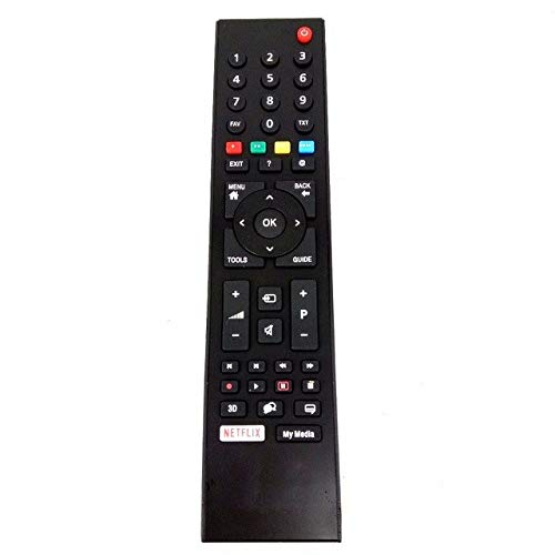 Mando a Distancia Compatible TS1187R GRUNDIG Smart LCD TV RC3214801/02, TP7 TS1187R-1, Vestel,