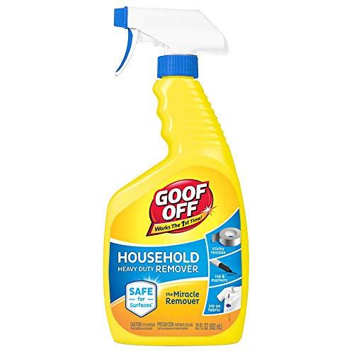 Goof Off FG644 Heavy Duty Remover, Trigger Spray, 22-Ounce …
