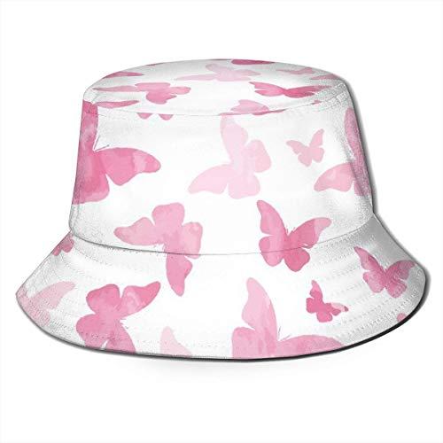Sombrero de cubo transpirable unisex de jirafa madre e hijo, sombrero de pescador de verano