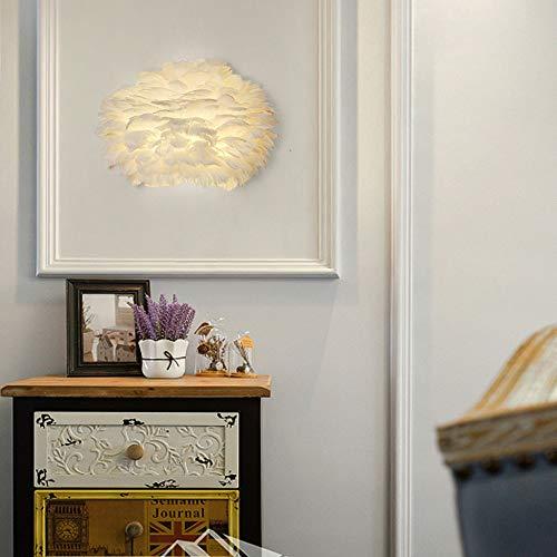 YDZM Wandleuchte Led Feder Wandleuchte E14 Moderne Wohnzimmer Schlafzimmer Nachttischlampe Kinderzimmer Hochzeit Raumdekoration Lampe Innenbeleuchtung