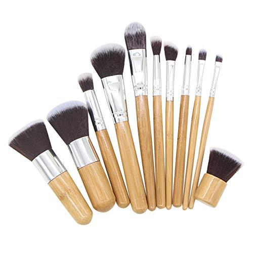 DÍa De San ValentÍn Brochas De Maquillaje Profesional Sistema Cepillo Portátil La Sombra Ojos Del De La Fundación Del Sistema Maquillaje 11Pc Para Base Colorete Contorno Polvos Crema Ojos Cejas Base