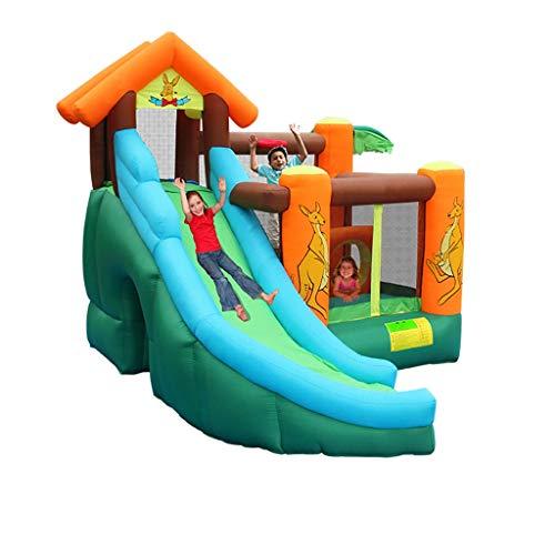 Spielplatz Fitnessgeräte Kinderspielplatz Indoor-Ausrüstung Spielzeug Für Zuhause Aufblasbare Burg Trampolin Spiel Zaun Ball Pool Rutsche Kombination Geschenk Gewicht 135 Kg