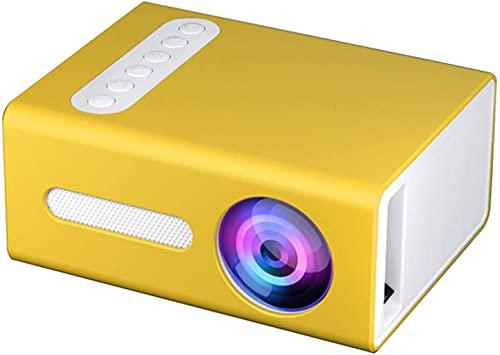 Mini proyector 1080P Full HD compatible con proyector de cine en casa, proyector LED portátil compatible con regalo para niños, cine en casa, compatible con smartphone/portátil/PS4/Firestick