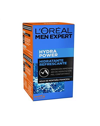 L'Oréal Paris Men Expert Hydra Power, Gel Hidratante Refrescante - 50 ml
