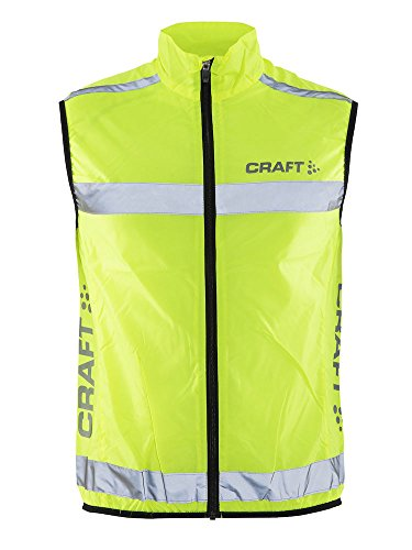 Craft Weste Visibility Vest Warnweste, neon, S