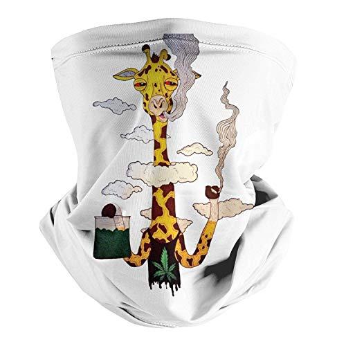 Paradesour Chief Smoking Weed Marihuana Hip Hop sin costuras, bufanda para la cabeza, bandana multifuncional, bufanda para el cuello, pasamontañas