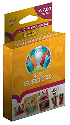 Euro 2020-Cajita Sobres, Color Calabaza (Panini España 7)