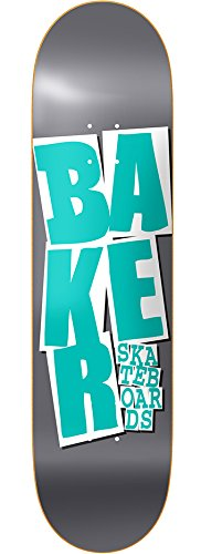 Baker - Tavolo da Skateboard Stacked Chillwave Pur Green 7.87+ Grip
