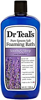Dr Teal's Pure Epsom Salt Foaming Bath to Soothe and