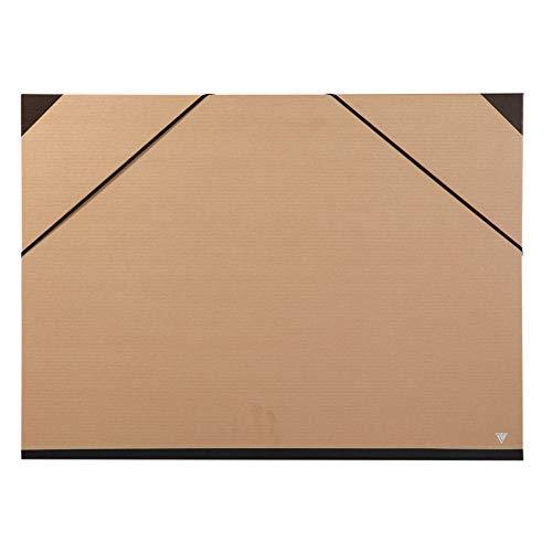 Clairefontaine 44400C - Carpeta de dibujo kraft, 52 x 72 cm