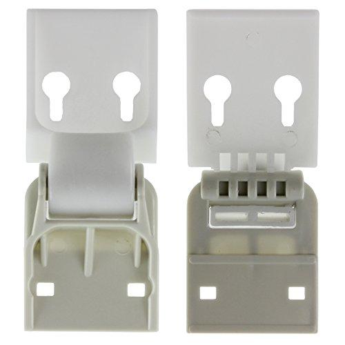 Norfrost Counterbalance Chest Freezer Door Lid Hinge (Hinge Pair - fits: C6CEW C7AESC C7AEWC)