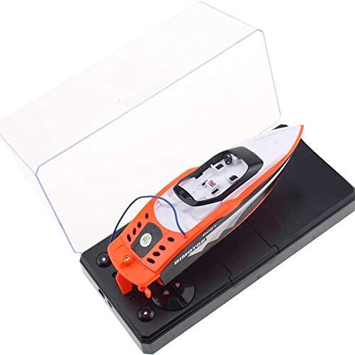 Markc Mini Telecomando Ship Radio Telecomando velocità di Controllo della Barca Racing Boat Toy Toy Giocattolo per Bambini velocità Gift Boat F1 Racing Boat Boat Regalo di Compleanno