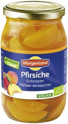 Morgenland - Pfirsiche Schnitten 350gr