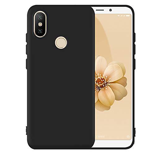 Capa Xiaomi Mi A2 Silicone Antichoque, WB, Preta