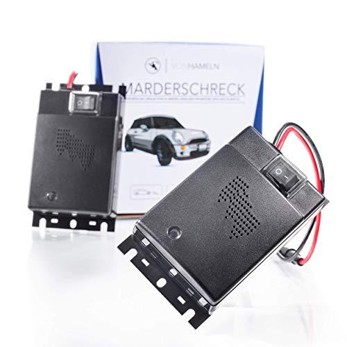 VON HAMELN® Marderschreck Auto - Effektive Marderabwehr Auto mit Ultraschall - Sofortiger & langfristiger Marderschutz im Motorraum