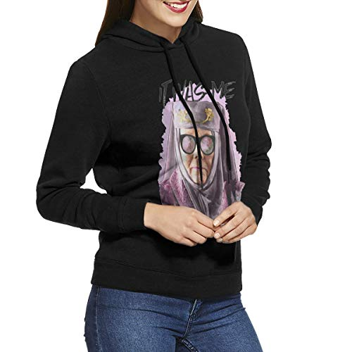 77xmy Tell Cersei It Was Me suéter con Capucha para Mujer, Sudaderas con Capucha para Mujer Negro Negro (XL