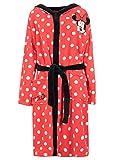Disney - Robe de Chambre - Minnie Mouse - Femme - Rouge - Large