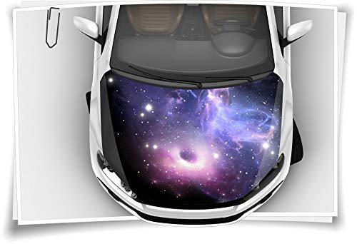 Medianlux Sterne Galaxie Nebel Weltall Motorhaube Auto-Aufkleber Steinschlag-Schutz-Folie Airbrush Tuning Car-Wrapping Luftkanalfolie Digitaldruck Folierung