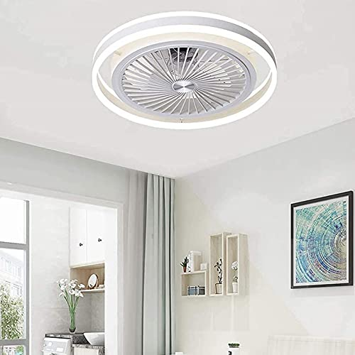 Ventiladores de techo con luces y control remoto 62W LED moderno LED Techo Techo Techo Techo Dormitorio Temporizador tranquilo 3 Velocidades Fan Light Techo Smart Sala de estar
