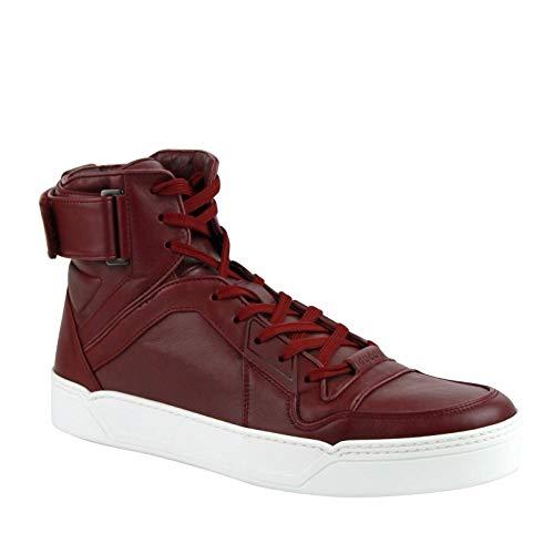 Guccia 386738 - Zapatillas de Baloncesto para Hombre, Color Rojo