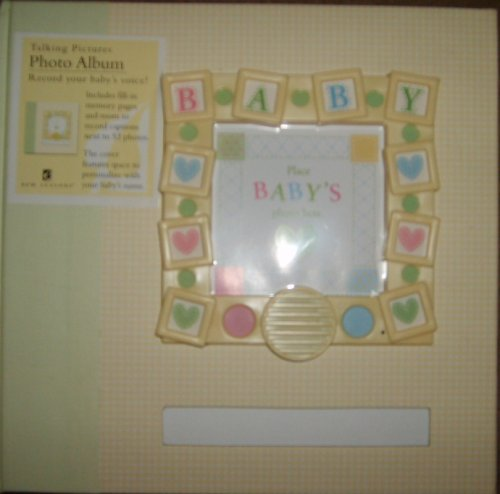BABY Photo Album record-a-message by New Seasons