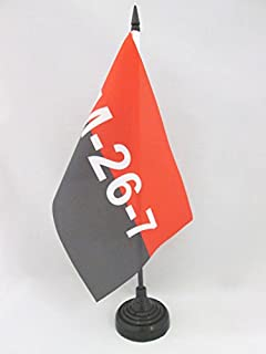 Piccola BANDIERINA IRANIANA 14 x 21 cm AZ FLAG Bandiera da Tavolo Iran 21x14cm