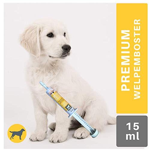 EMMA® Welpen Aufbaupaste I Vitamin-Paste I Hund Multi-Vitamine A C E D3 B1 B2 B6 (B-Komplex) I Kalzium Biotin I Aufbaukur Junge & alte Hunde Senior I Energie Booster I Wochenkur I 15ml