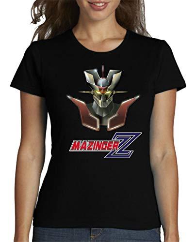 Camiseta de Mujer Mazinger Z Manga Anime Retro EGB 003 S