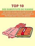 TOP 10 DES SUBSTITUTS DE VIANDE: DÉCOUVREZ LES MEILLEURS SUBSTITUTS DE VIANDE SAINS QUI FOURNISSENT TOUJOURS LES PROTÉINES DONT VOUS AVEZ BESOIN!