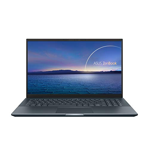 "ASUS Zenbook Pro 15 UX535LI#B08CXT69YJ, Notebook alluminio Monitor 15,6"" FHD Anti-Glare, Intel Core i7-10870H, RAM 16GB, 512GB SSD PCIE, NVIDIA GeForce GTX 1650Ti 4GB, Windows 10 Home, Grigio scuro"