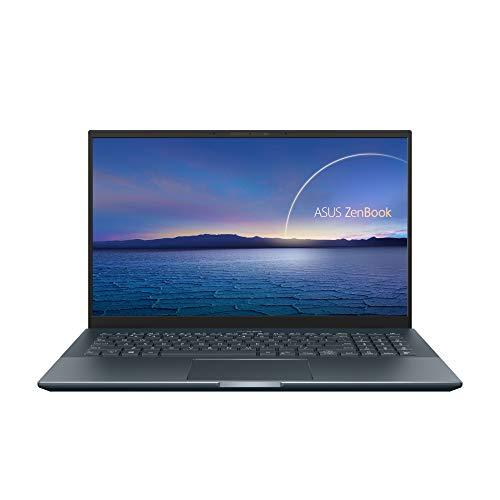 ASUS Zenbook Pro 15 UX535LI#B08CXT69YJ, Notebook alluminio Monitor 15,6' FHD Anti-Glare, Intel Core i7-10870H, RAM 16GB, 512GB SSD PCIE, NVIDIA GeForce GTX 1650Ti 4GB, Windows 10 Home, Grigio scuro