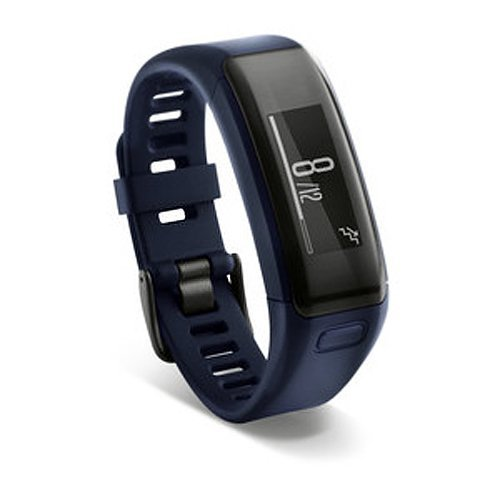 Garmin vívosmart HR Activity Tracker Regular Fit - Midnight Blue (Renewed)