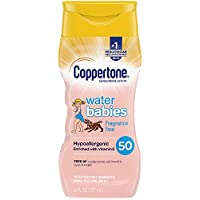 Coppertone Waterbabies Fragrance Free SPF 50 Sunscreen Lotion 6 Ounce