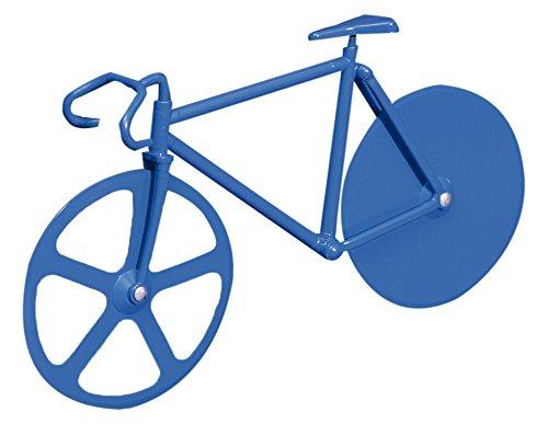 DOIY Design dyfixiebl Pizzaschneider Fixie Pure Stahllegierung blau 22,5x 4x 13cm