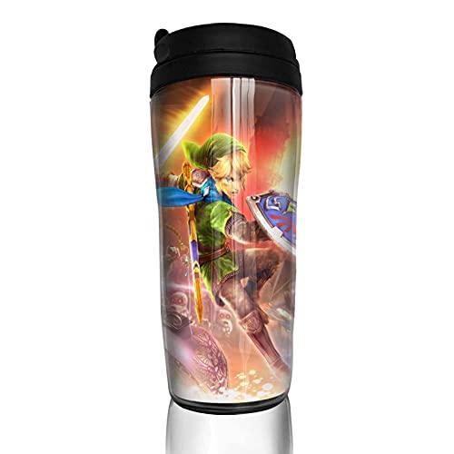 Tazas Hyrule Game Warriors Vaso de viaje Bebida Vaso de vacío Vaso Termo