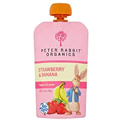Naturally wholesome, healthy snacks for kids! USDA Certified Organic and Non-GMO ingredients. INGREDIENTS: Organic bananas, Organic strawberries, organic lemon juice concentrate. Convenient squeezable pouch with BPA free packaging, no need to chill P...