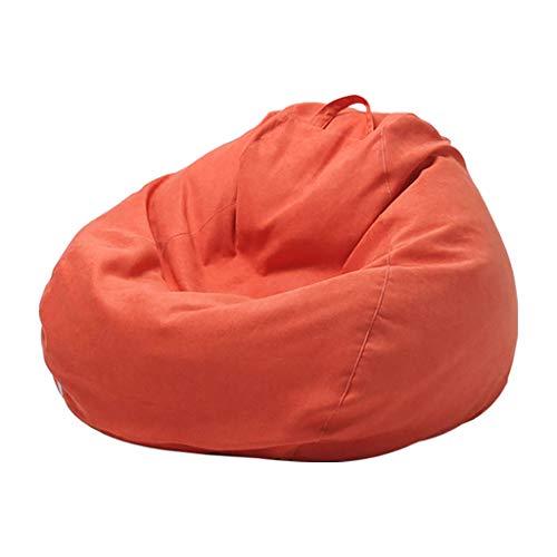Bean Bag Chaise Pouf Poire Canapé Chaise De Sol avec Mousse Ultra Confortable avec Poignée pour Enfants Et Adultes 80 * 100 cm