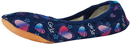 Beck Girls, Zapatillas de Gimnasia para Niñas, Azul (Dunkelblau 05), 33 EU