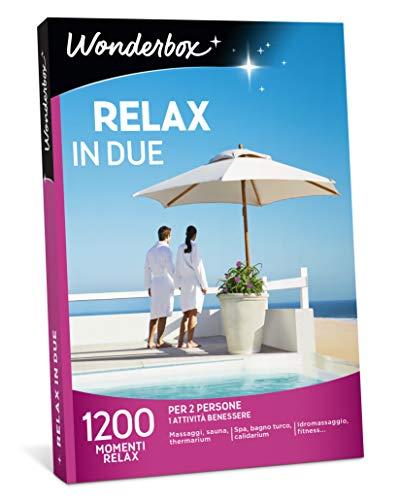 Wonderbox Cofanetto Regalo - Relax in Due - 1200 MOMENTI Relax per 2 Persone