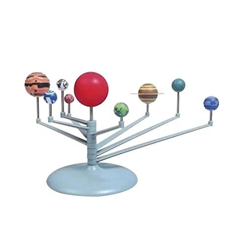 TOYMYTOY Sonnensystem Modell Kinder Wissenschaft Lernspielzeug Geburtstagsgeschenk