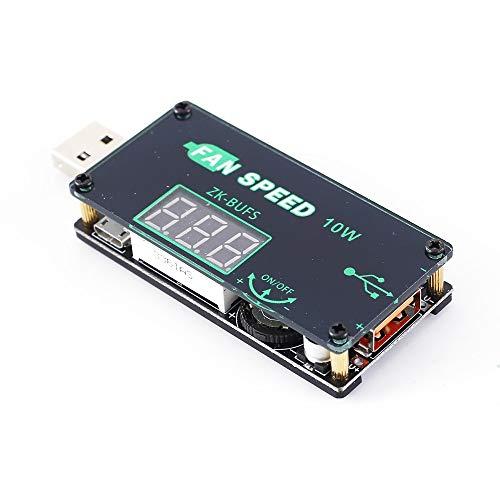 Módulo de fuente de alimentación Módulo de atenuación USB LED gobernador del ventilador temporizador Tensión del regulador de velocidad ajustable 5V 10W Módulo ajustable