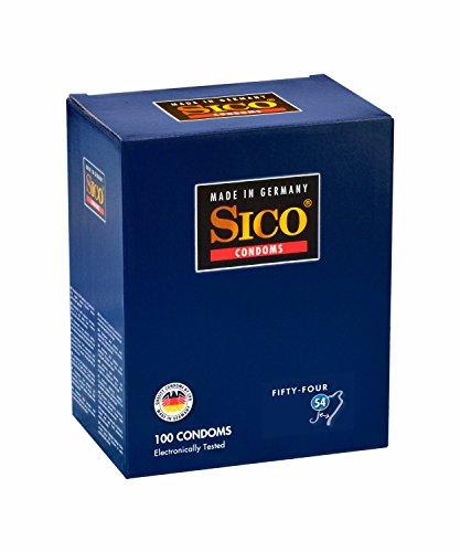 Sico 54mm Condones–Pack de 100