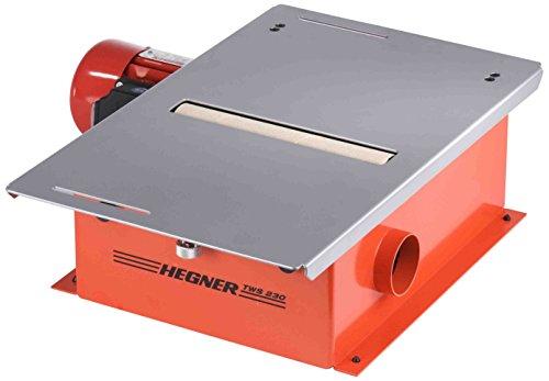 Hegner Tischwalzenschleifmaschine TWS 230 (für Laubsägearbeiten, große Tischplatte, Schleifbreite 230 mm) 50100000