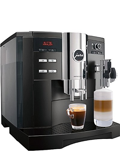 Jura Impressa S9One Touch Espresso Machine 2.7L 20Cups Black–Coffee Makers (Espresso Machine, Black, HINGED LID, 2.7l, 20Cups, 15bar)