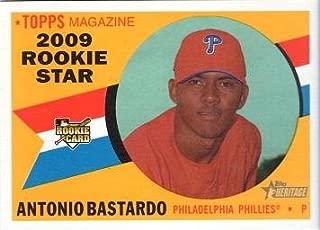 2009 Topps Heritage Baseball #515 Antonio Bastardo Rookie Card